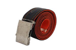 unisex stylový design  pásek oranžový se značkou