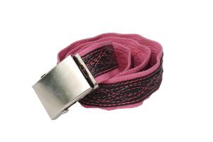 pásek růžovka vlní se