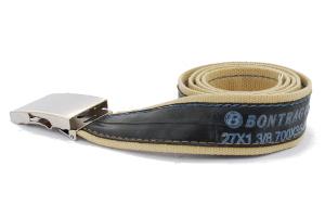 pásek přírodní elegán Bontrager stylová móda design opasek modní doplněk pro muže i ženy  pásek přírodní elegán Bontrager