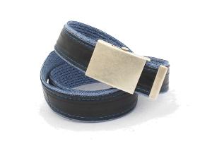 stylový módní design opasek modní doplněk pro muže i ženy opasek modré džíny AUTHOR