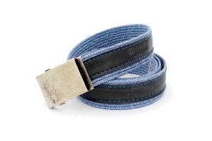 stylový módní design opasek modní doplněk pro muže i ženy pásek modré džíny RUBENA