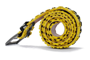 žlutý opasek z pláště mAn