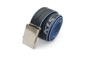 opasek z duše modré džíny s nápisem KLS