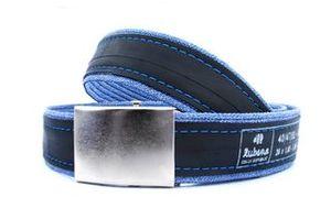 design opasek modré džíny Rubena