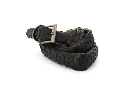 Černý opasek spící kobra