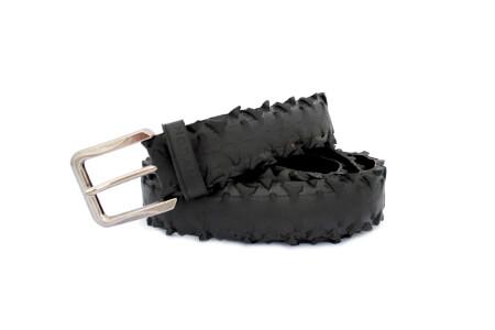 Pánský opasek k riflím, ke kalhotám z tvrdého materiálu