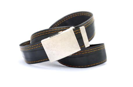 pásek černý 3oranž