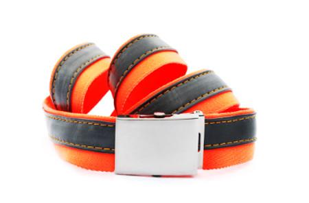 pásek oranž černý