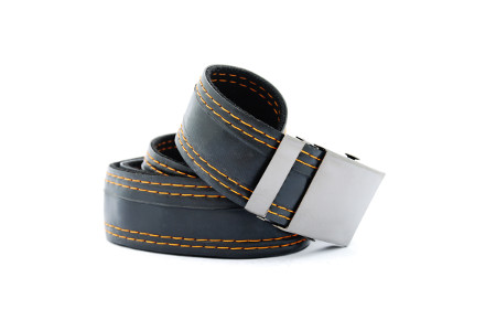 pásek černý 4 pruhy