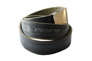 khaki old school s nápisem Super East Tube