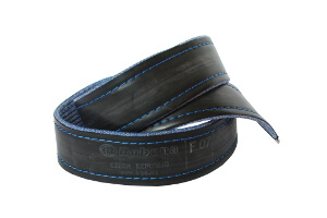 modré džíny s nápisem Rubena