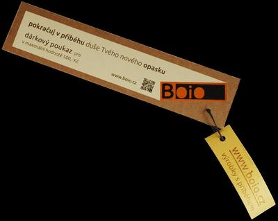 dárkový pouzkaz BOIO